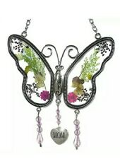 BANBERRY DESIGNS Mom Butterfly Mother Suncatcher with Pressed Flower Wings
