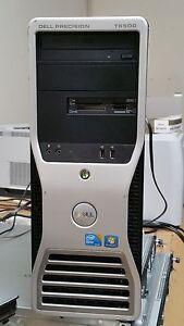Dell Precision T5500- Intel Xeon 4 Quad-Core E5506 2.13GHz / 8GB / 500GB HD/Win7