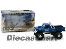 Greenlight 1:43 Bigfoot #1 The Original Monster Truck 1974 Ford F-250 86097 Blue