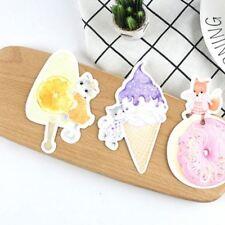 30 pcs/lot Cute Ice cream dessert metamorphism postcard greeting card Christmas
