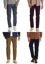 Levis 502 Regular Taper Corduroy Jeans Mens Flat Front Warp Stretch Cord Pants