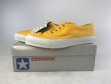 Vintage Converse USA Skidgrip Canvas Oxfords Sneaker Mens Size 13 Sunflower RARE