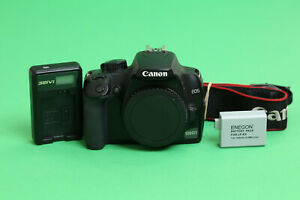 Canon EOS 1000D 10.1MP DSLR Camera (Body Only) - 19400 Shutter Count