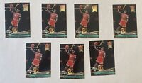 Michael Jordan 1992 fleer ultra #216 Lot Of 7 Cards