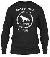 Fashionable German Shepherd- Circle Of Trust Mp - Gildan Long Sleeve Tee T-Shirt