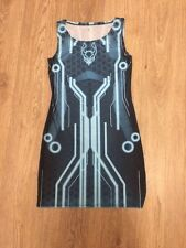 Cyber Dog Subsonic Blue Ladies Dress Size M