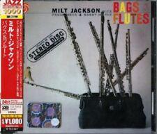 MILT JACKSON - BAGS & FLUTES  CD NEW+