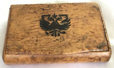 Old Wooden Cigarette Case/Box.
