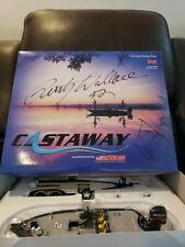 Autographed Rusty Wallace 2004 #2 Miller Lite Castaway Ranger Boat And Trailer