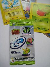 Pokemon E3 2002 pack - eReader Sealed pack w/ English front, Japanese back
