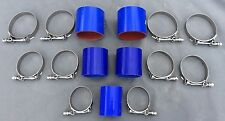 1986-1987 Grand National MAF Pipe Turbo Intercooler Hoses T-Bolt Clamp Set BLUE