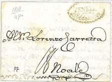 ITALIA PREFILATELICA : BUSTA da VENEZIA a NOALE 1808