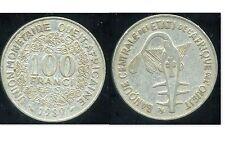 ETATS DE L'AFRIQUE DE L'OUEST  100 francs  1989   ( bis )