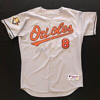 Cal Ripken Jr. Signed autographed Majestic Authentic Orioles Jersey with 2 COA's