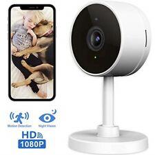 Larkkey WiFi Home Security Surveillance Camera 1080P, Smart Baby Monitor Compati
