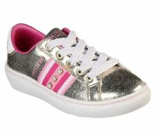 Skecher Street Girls Goldie-Jewel Box Fashion Sneakers Gold/Pink US 1.5Y