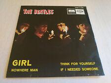 THE BEATLES - Girl / Nowhere man SPAIN press EP Smoking PS Unique DSOE 16.690 EX