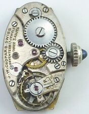 Vintage J.W. Chopard Wristwatch Movement - Spare Parts / Repair