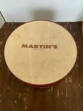 Vintage Martin's Sioux City Iowa Cardboard Hat Box