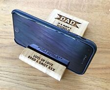 Personalised Christmas Gifts For Men Dad Grandad Him Phone Holder Stand Gifts