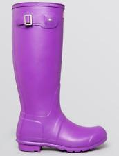 Purple  Hunter Stiefel   Purple   496bcb