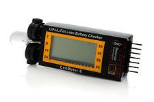 Tenergy Intelligent Cell Meter LiPO Alarm Digital Battery Checker for Quads Heli