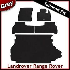 Landrover Range Rover (2002 2003 2004 ...) Tailored Fitted Car + Boot Mats GREY
