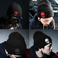 Unisex Mens Womens Skull Hat Warm Winter Cotton Knit Cap Hip-hop Beanie Hats