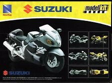 Suzuki GSX-R1000 Model Kit 1:12 Die-cast New Ray Toys 8+ Adult Assembly Required