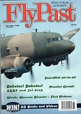 Flypast 1992 November Vulcan,SAAF Dakota,Swordfish,Gee Bee