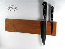 6er Magnet Messerleiste Kirsche Holz Messerblock Magnetleiste Schlüsselbrett