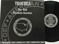 "Trouble - The Wolf / Psychotic Reaction 12"" Single 1990 UK Promo Def American NM"