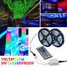 5 / 10m 3528RGB LED bande lumineuse étanche télécommande 44 touches multicolore