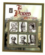 Zambia 2000 - The Popes Of The Millennium - Sheet of Six Stamps - MNH