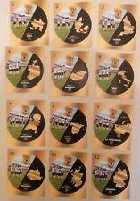 Ferrero Teamsticker Spielorte Komplettsatz EM 2020 - Nutella - Stadien- Prio 12