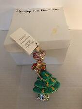 Nwt Radko Partridge and Pear Tree Glass Ornament 285/3000