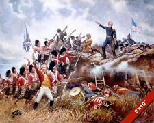 BATTLE OF NEW ORLEANS PAINTING US ANDREW JACKSON WAR OF 1812 ART CANVASPRINT