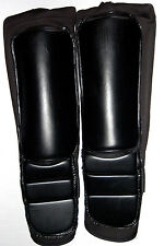 Black on Black Wrestling Kick Pad Kickpads NEW Pro Wrestling Lucha Libre Gear