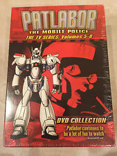 Patlabor: The Mobile Police - The TV Series Collection 2 (DVD, 2004) NEW