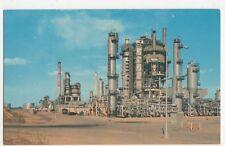 USA, Tidewater Oil Company Plant, Delaware City Postcard, B225