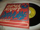 """DEEP PURPLE """"BLACK NIGHT/SPEED KING"""" 7"""" YUGOSLAVIA"""