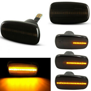 Dynamic LED Side Marker Blinker Light For Toyota Prius Kluger Wish Altezza Isis