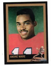 Andre Ware Houston Cougars Scarce Heisman Card FREE Shipping