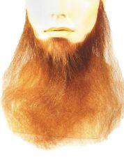 "16"" LONG FULL FACE BEARD DUCK DYNASTY BIKER COSTUME BEARD HUMAN HAIR BLEND"