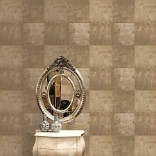 Panel de Metal Metálico Oro Papel Tapiz Decoración De Pared Dormitorio Modernos Gratis P + P