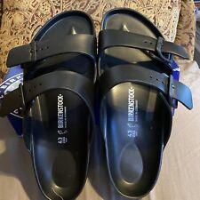 Birkenstock MEN'S Size 10 Eva Black Sandals E.V.A Synthetic Eur43 Display