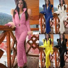Women Ladies Winter Warm Snowsuit Outdoor Sports Pants Ski Suit Waterproof Pants