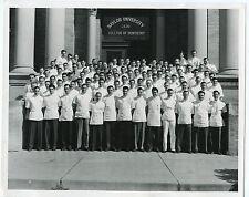 Vintage 8x10 Glossy B/W Photo-Baylor University College of Dentistry Graduates