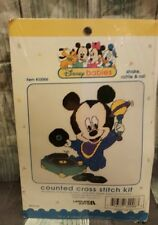Disney Babies Mickey SHAKE, RATTLE & ROLL Counted Cross Stitch Kit #32006