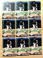 1992 UD FANFEST #10 FRANK THOMAS ~ 9 CARDS LOT ~ HALL OF FAME INDUCTEE